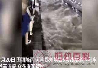 郑州为何乘客被困地铁两站之间 暴雨天被困地铁该怎么办